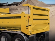 Change from high-lift to sliding with traditional dump through always available with ease utilizing simple mechanical adjustment
