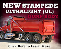 Check Out the New Stampede Ultralight (UL) Dump Body!